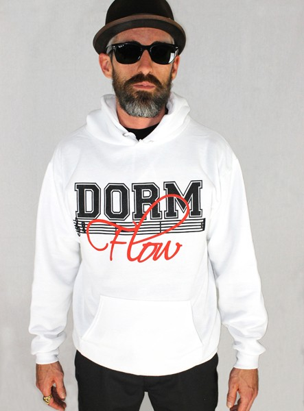 MD - white hoodie
